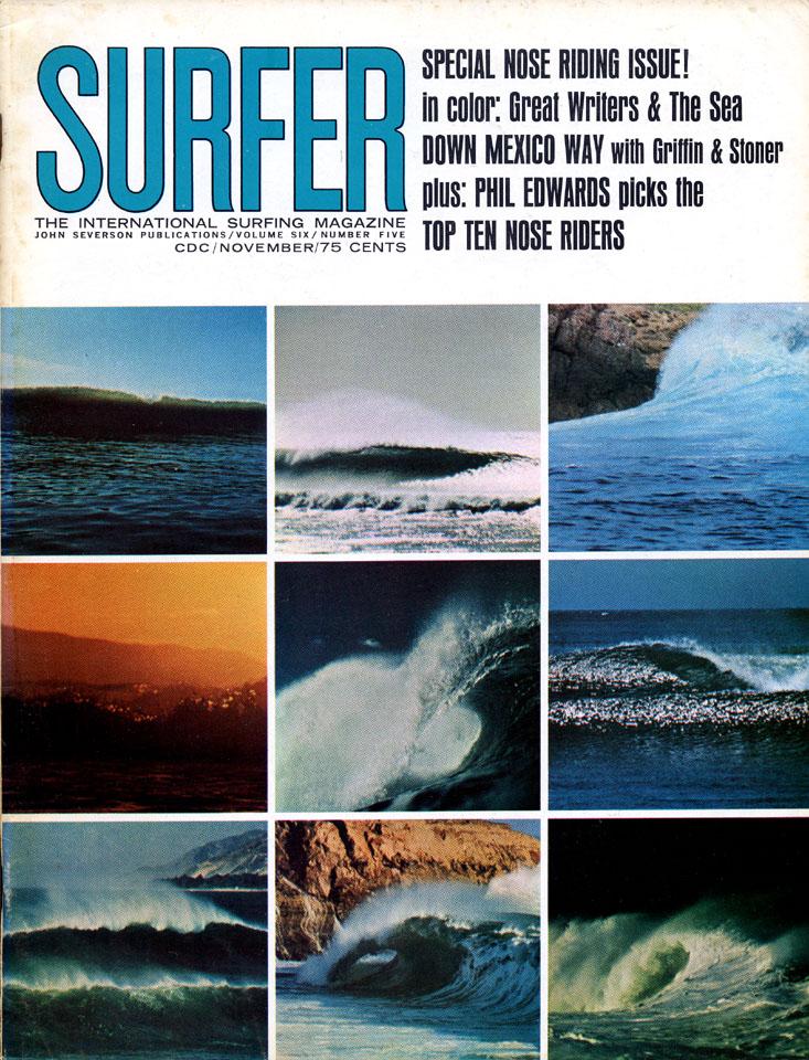 Surfer Magazine November 1965