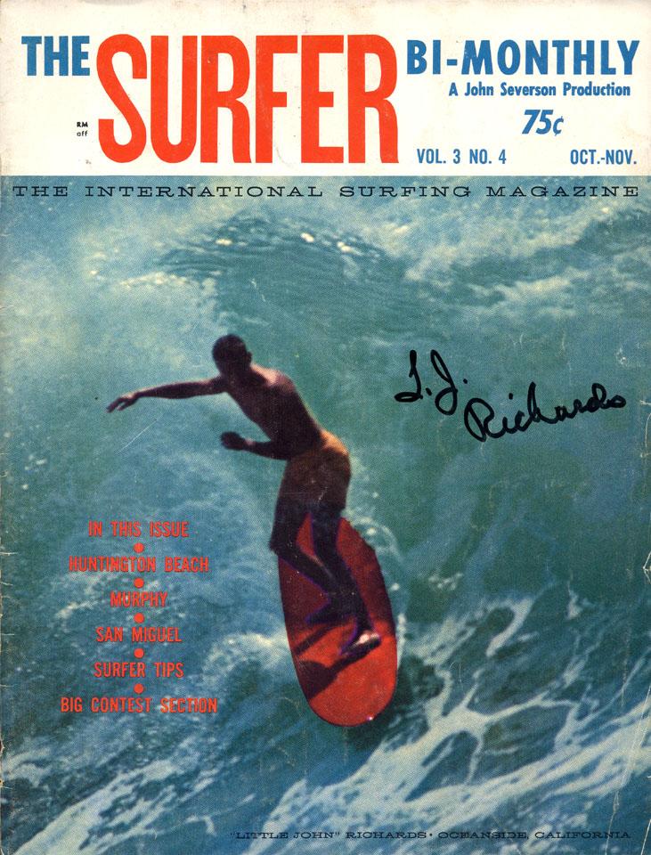 Surfer Magazine October 1962