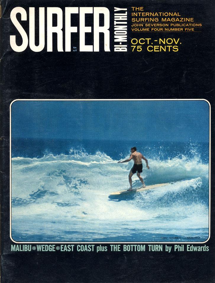 Surfer Magazine October 1963