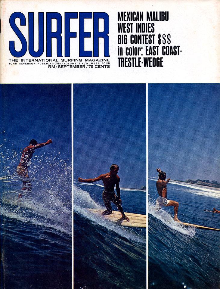 Surfer Magazine September 1965