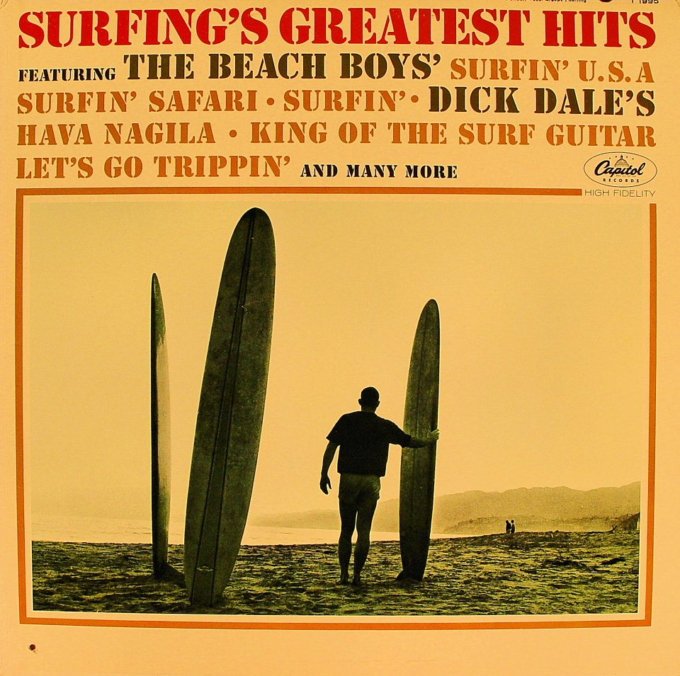 "Surfing's Greatest Hits Vinyl 12"" (Used)"