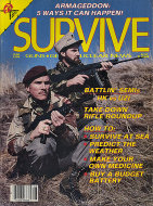 Survive Vol. IV No. 6 Magazine