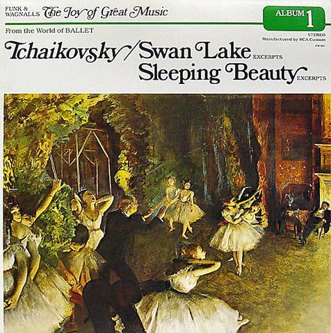 """Swan Lake, Sleeping Beauty Album 1 Vinyl 12"""" (Used)"""