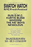 Swatch Watch New York City Fresh Festival Poster