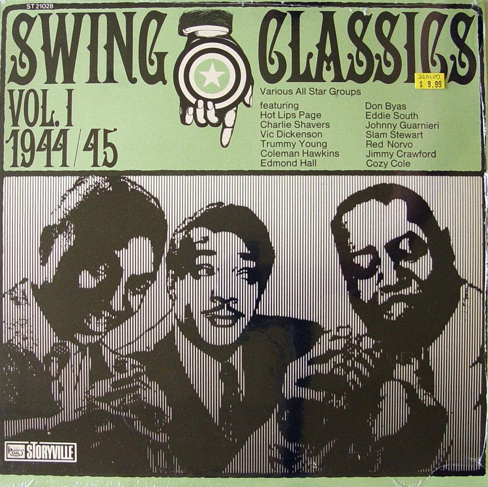 """Swing Classics Vol. 1 1944/45 Vinyl 12"""" (New)"""