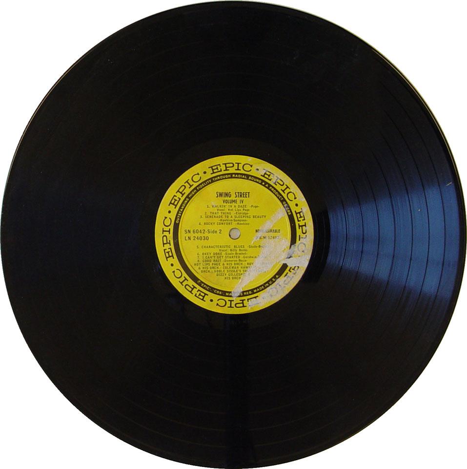 """Swing Street Vol. IV Vinyl 12"""" (Used)"""