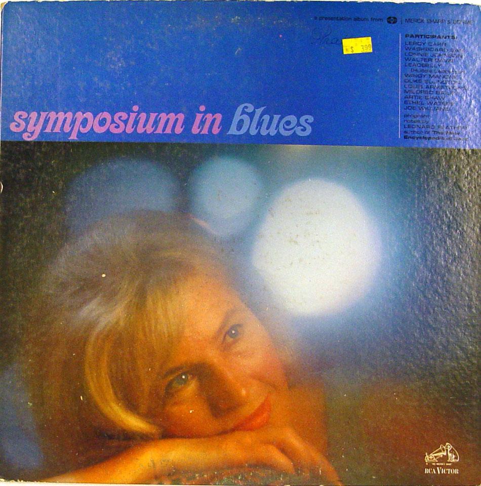 "Symposium In Blues Vinyl 12"" (Used)"