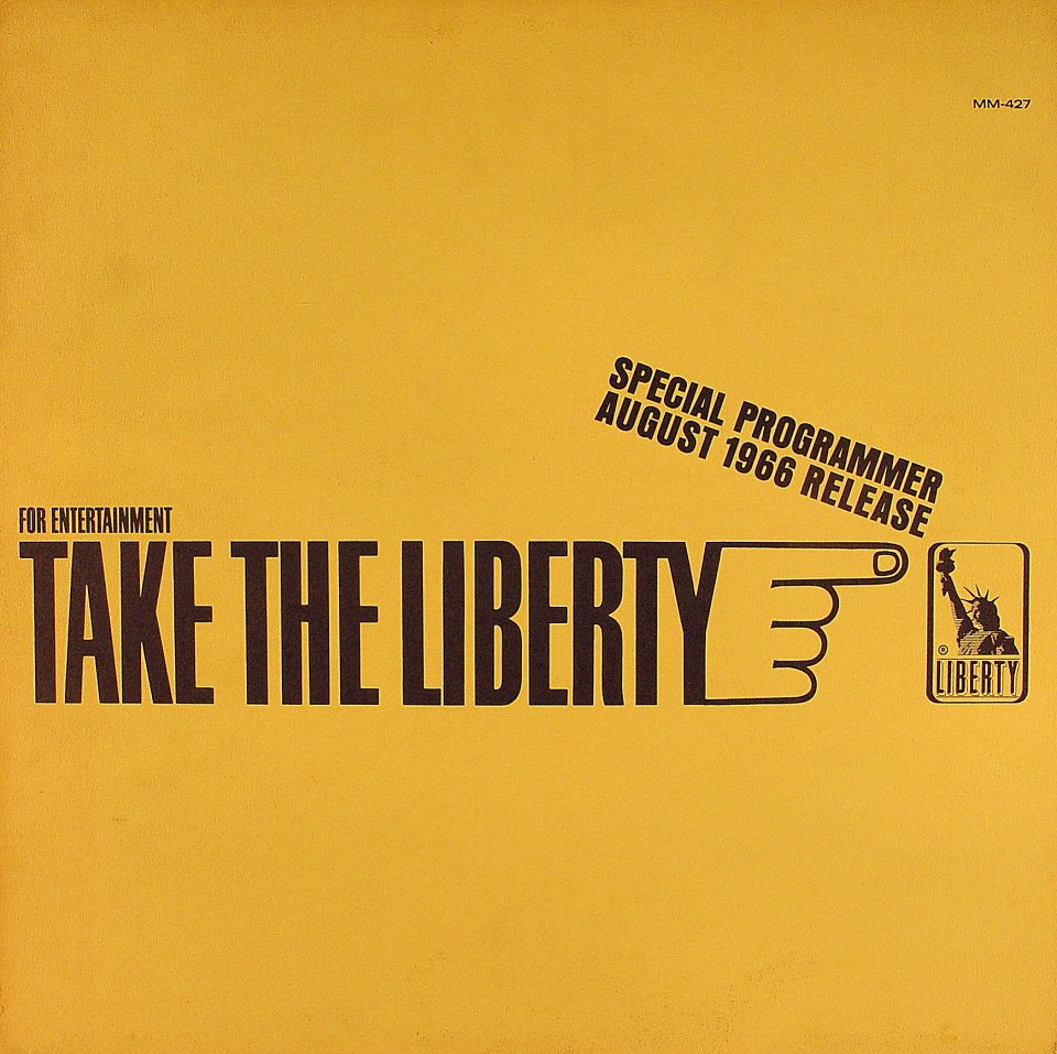 "Take The Liberty Vinyl 12"" (Used)"