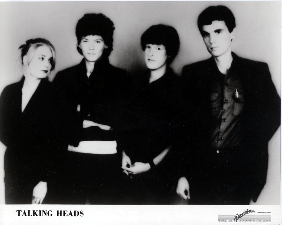 Talking Heads Promo Print