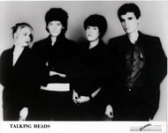 Talking Heads Promo Print