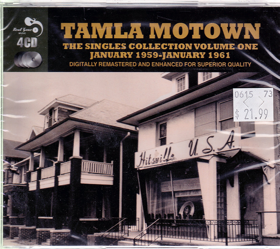 Tamila Motown: Volume 1 CD