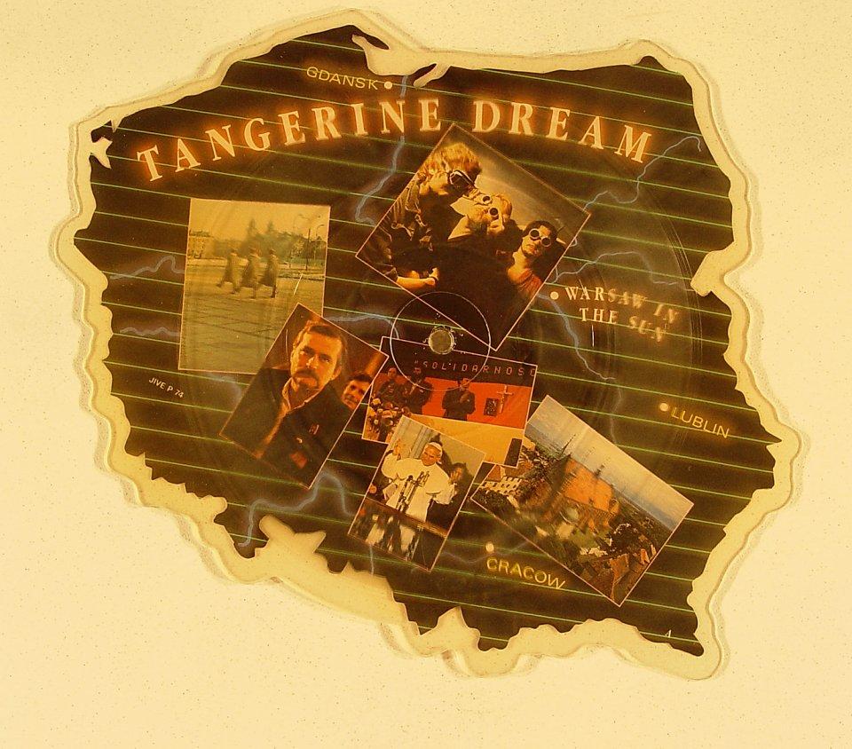 """Tangerine Dream Vinyl 7"""" (New)"""