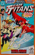 Team Titans Comic Book