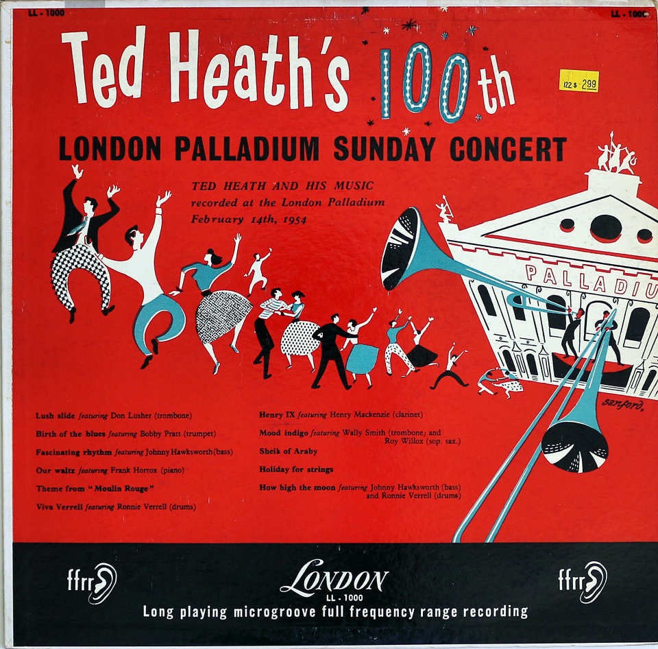 Ted Heath And His Music Seven Eleven - Lullaby Of Birdland