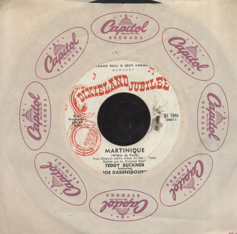 """Teddy Buckner Vinyl 7"""" (Used)"""