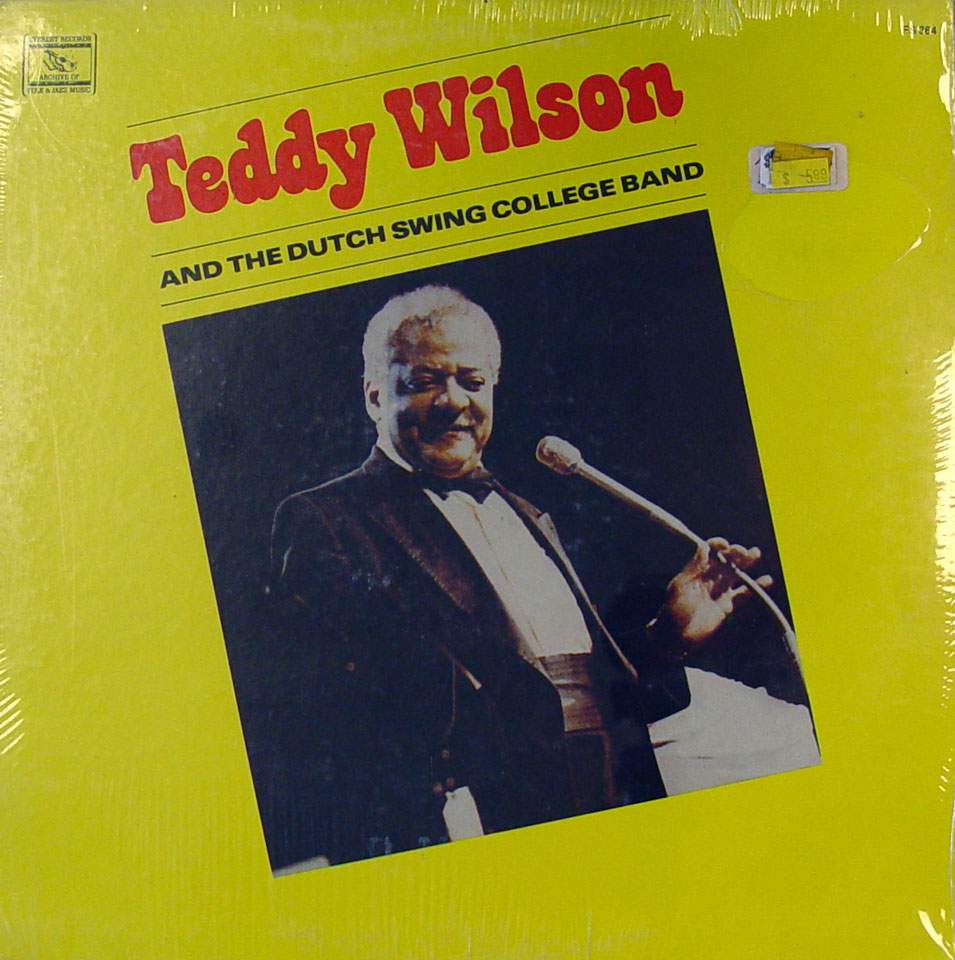 """Teddy Wilson And The Dutch Swing College Band Vinyl 12"""" (New)"""