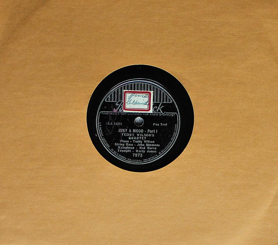 Teddy Wilson's Quartet 78