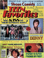 Teen Favorites Magazine December 1977 Magazine