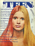 Teen Magazine March 1971 Magazine