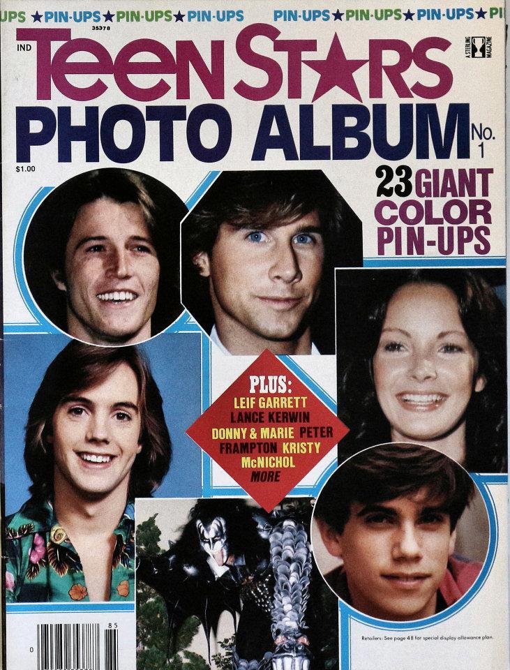 Teen Stars Photo Album No. 1