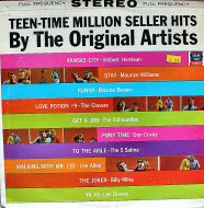 "Teen-Time Million Seller Hits Vinyl 12"" (Used)"