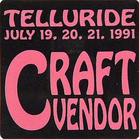 Telluride Mid-Summer Music Festival Sticker