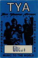 Ten Years After Backstage Pass