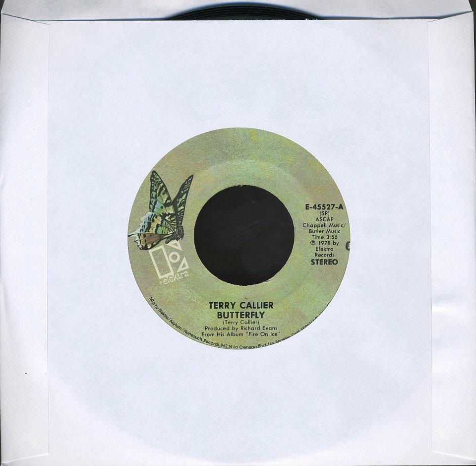 """Terry Callier Vinyl 7"""" (Used)"""
