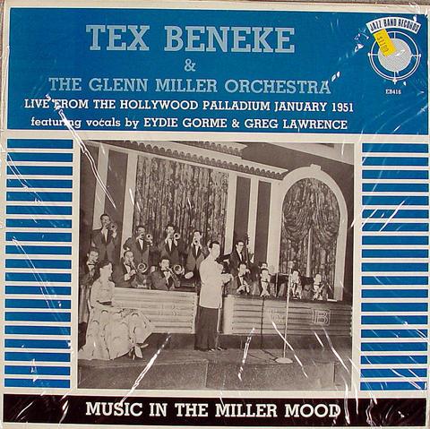 "Tex Beneke Vinyl 12"" (New)"