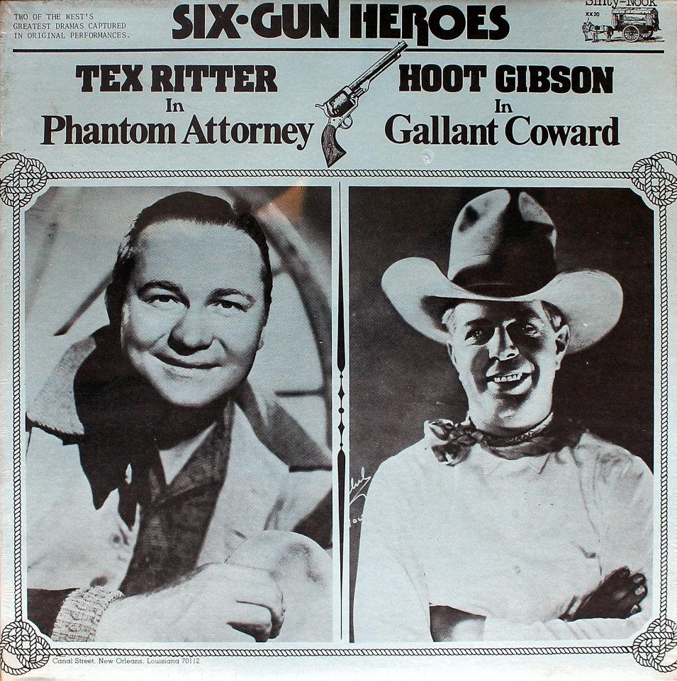 """Tex Ritter / Hoot Gibson Vinyl 12"""" (New)"""