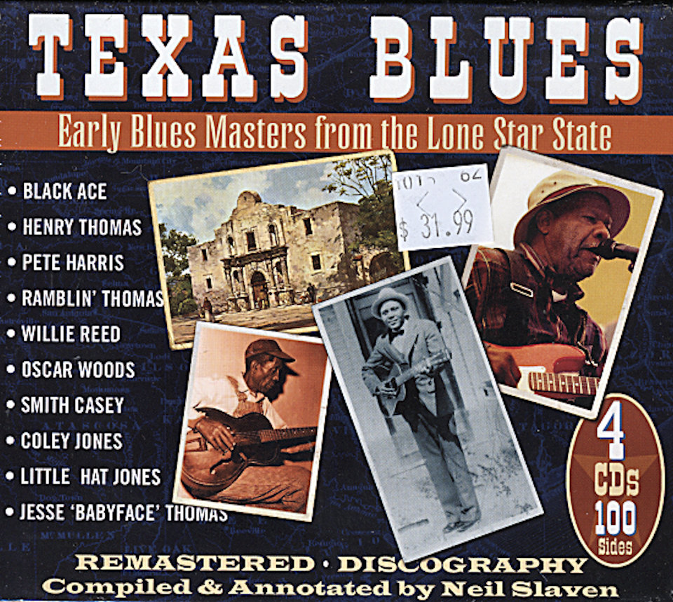 Texas Blues CD