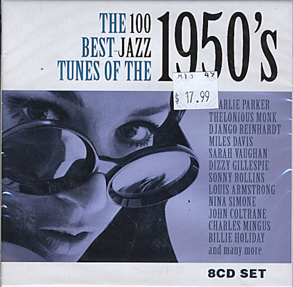 The 100 Best Jazz Tunes of The 1950's CD