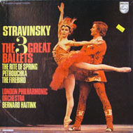 "The 3 Great Ballets: The Rite of Spring, Petrouchka, The Firebird Vinyl 12"" (Used)"