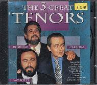 The 3 Great Tenors CD