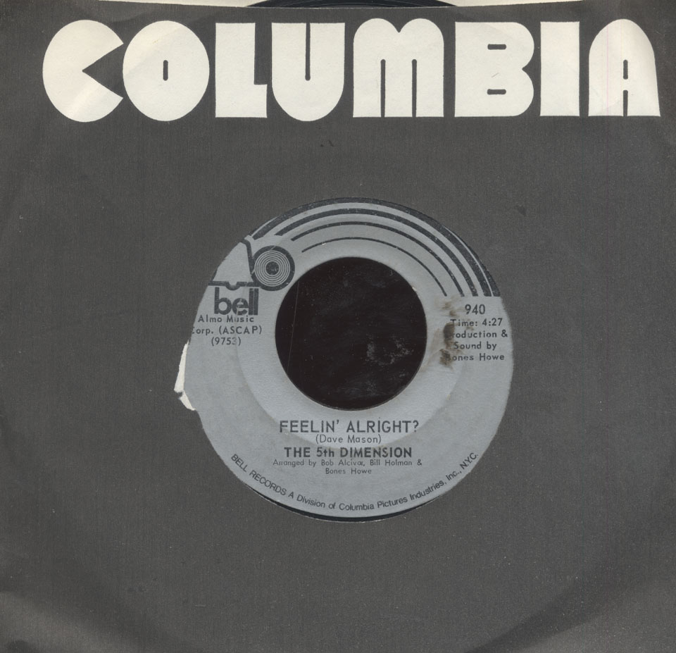 """The 5th Dimension Vinyl 7"""" (Used)"""