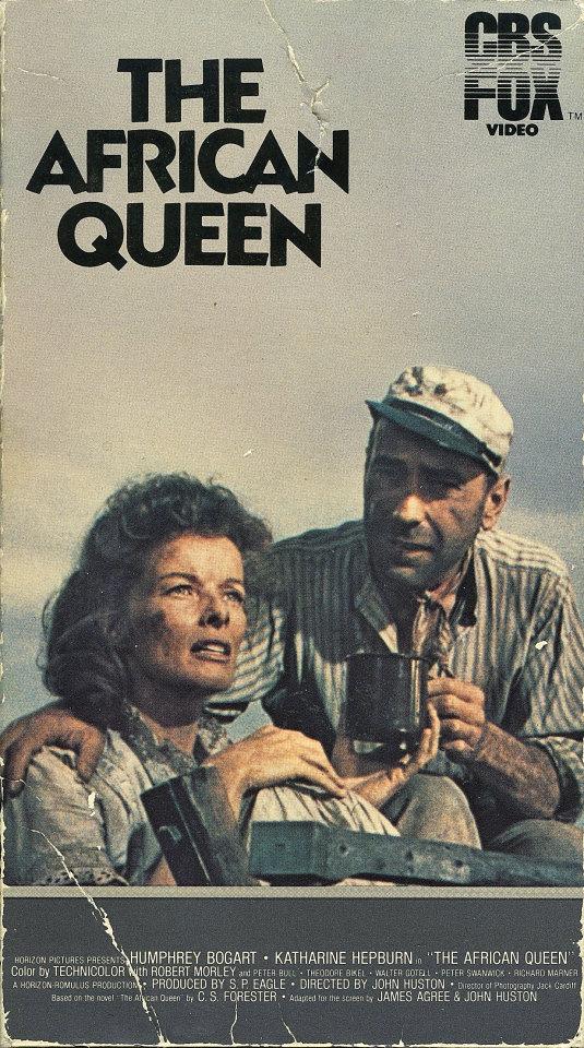 The African Queen VHS
