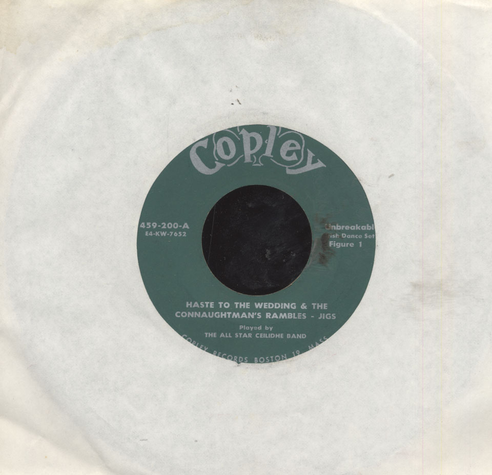 "The All Star Ceilidhe Band Vinyl 7"" ..."