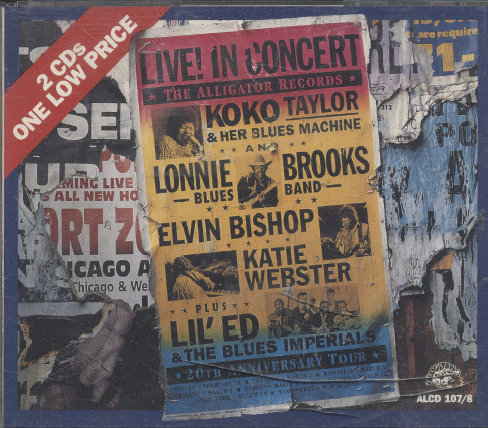 The Alligator Records: 20th Anniversary Tour CD