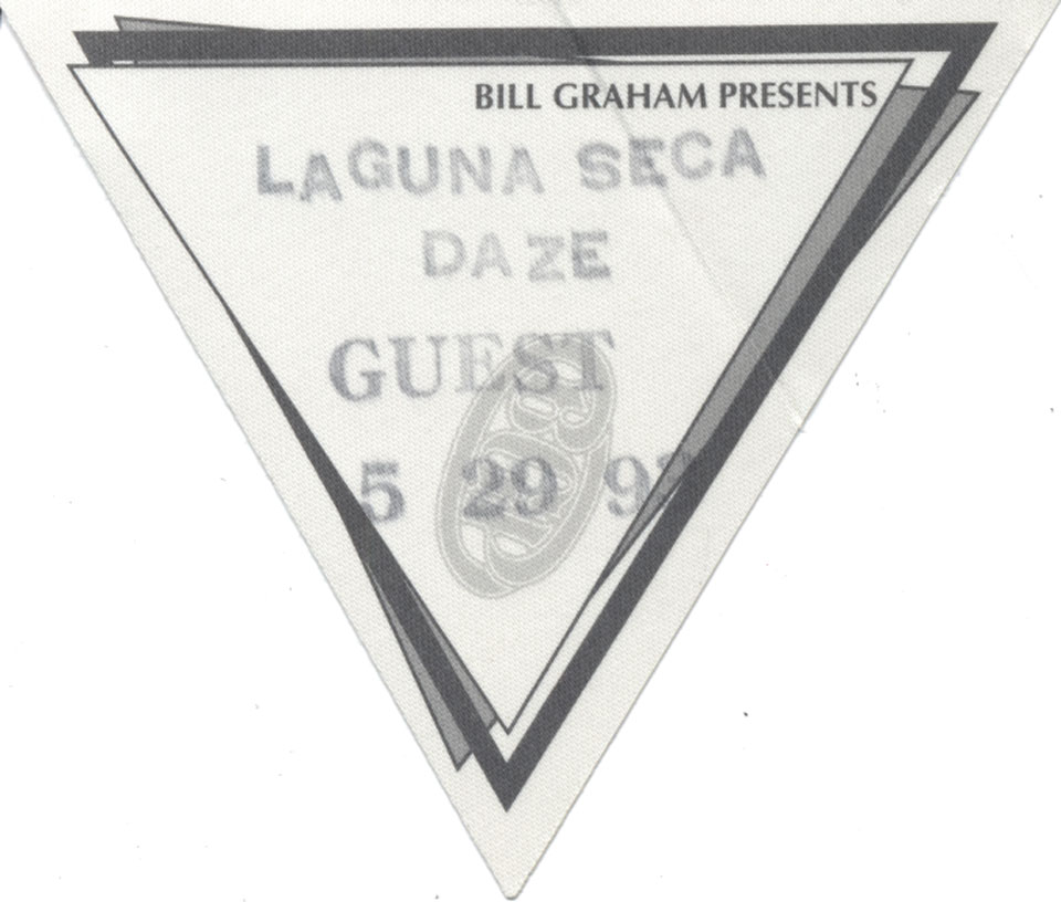The Allman Brothers Band Backstage Pass