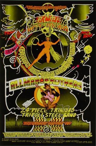 The Allman Brothers Band Handbill