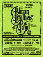 The Allman Brothers Band Handbill