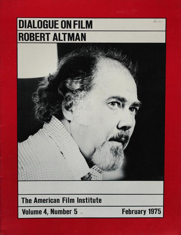The American Film Institute Vol. 4 No. 5
