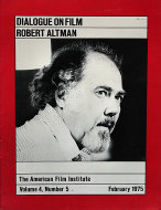 The American Film Institute Vol. 4 No. 5 Magazine