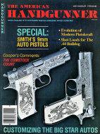 The American Handgunner Vol. 3 No. 4-12 Magazine