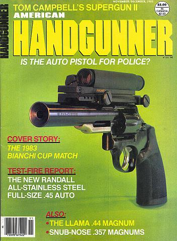 The American Handgunner Vol. 8 No. 43 Magazine