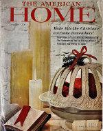 The American Home Magazine December 1959 Magazine