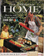 The American Home Magazine July 1959 Magazine