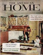 The American Home Magazine June 1959 Magazine