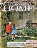 The American Home Vol. LX No. 5 Magazine