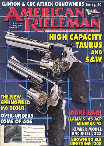 The American Rifleman Vol. 144 No. 6 Magazine